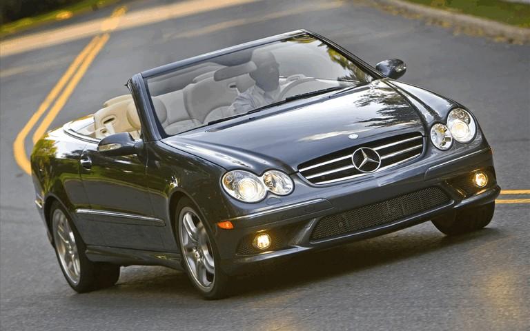 2009 Mercedes-Benz CLK550 cabriolet 501483