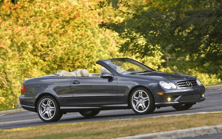 2009 Mercedes-Benz CLK550 cabriolet 501484