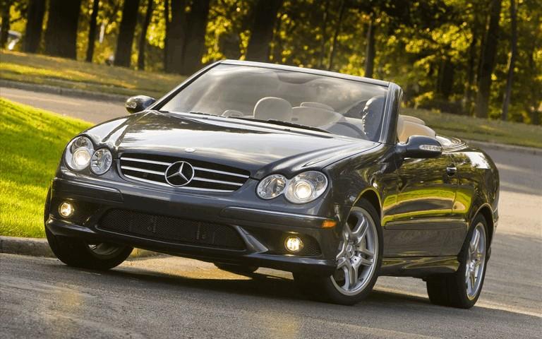 2009 Mercedes-Benz CLK550 cabriolet 501485