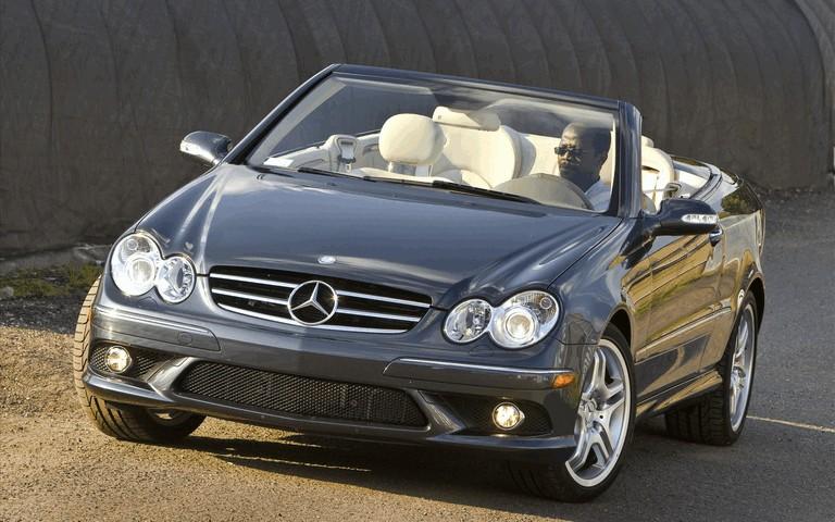 2009 Mercedes-Benz CLK550 cabriolet 501486