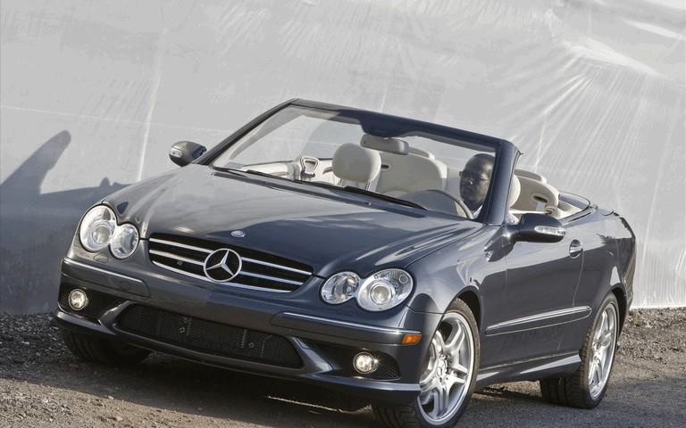 2009 Mercedes-Benz CLK550 cabriolet 501487