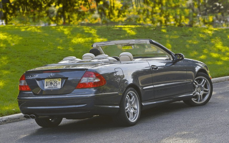 2009 Mercedes-Benz CLK550 cabriolet 501488