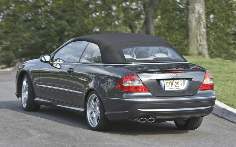 2009 Mercedes-Benz CLK550 cabriolet 501489