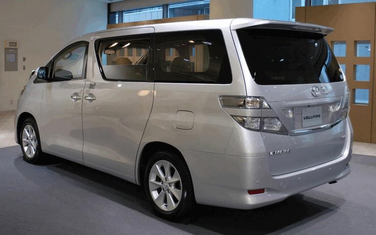 2008 Toyota Vellfire 502202