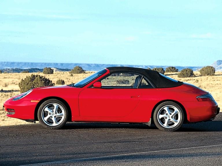 2001 Porsche 911 Carrera cabriolet 197609