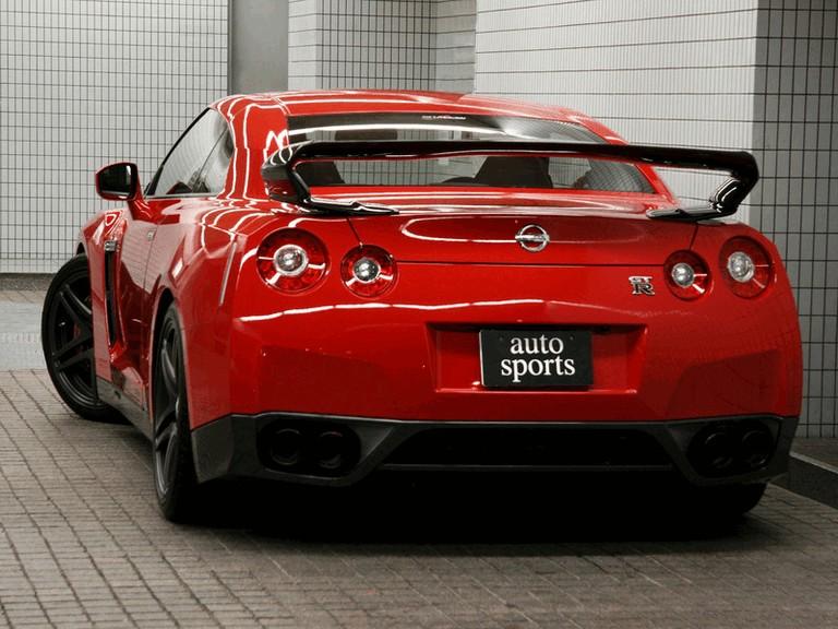 2009 Nissan GT-R R35 aero kit by Shadow Sports Design 246528