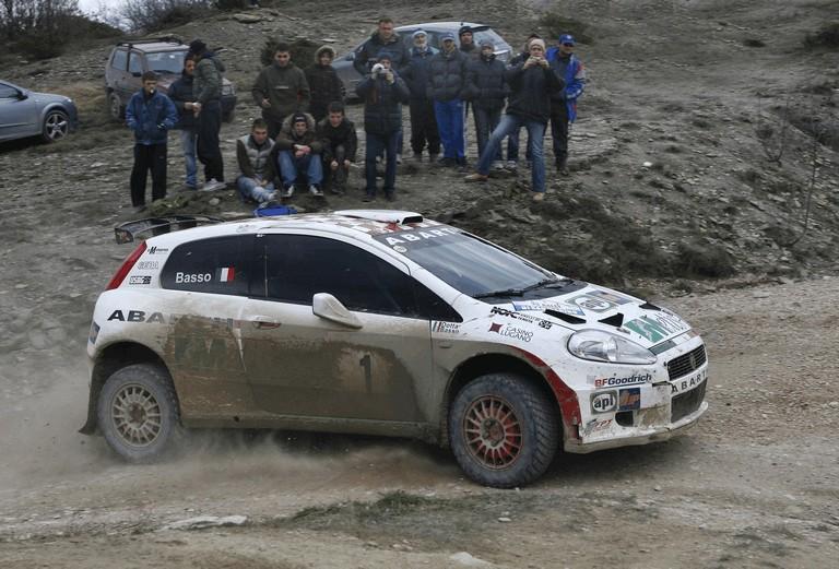 2007 Fiat Grande Punto Abarth rally 246553