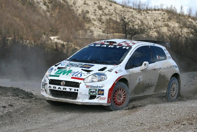 2007 Fiat Grande Punto Abarth rally 246557