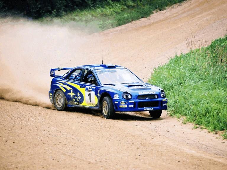 2001 Subaru Impreza WRC 483028