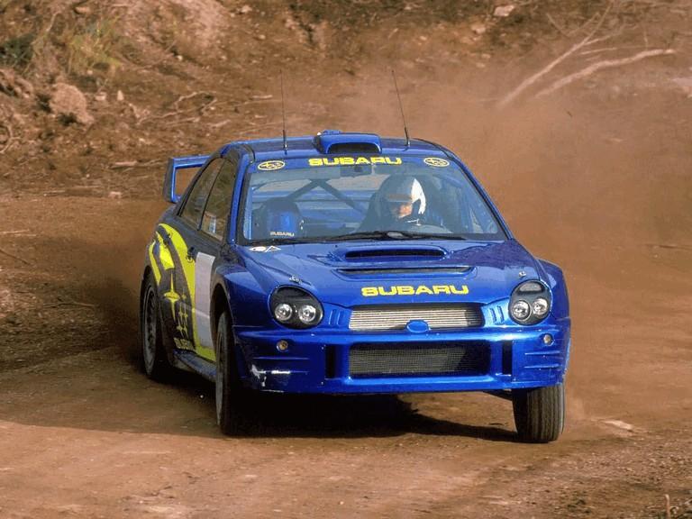 2001 Subaru Impreza WRC 483030