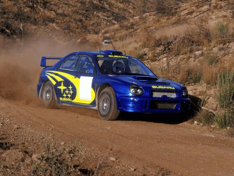 2001 Subaru Impreza WRC 483035