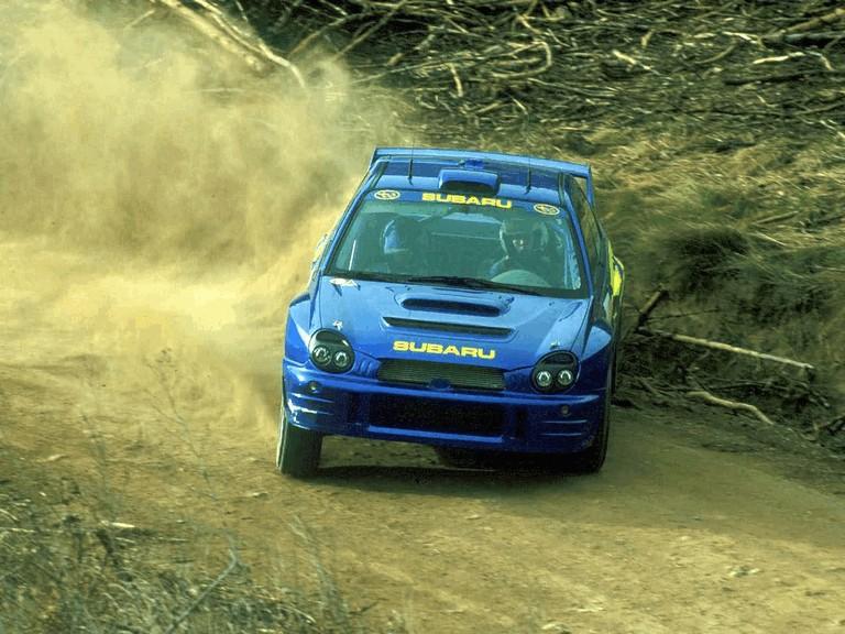 2001 Subaru Impreza WRC 483038