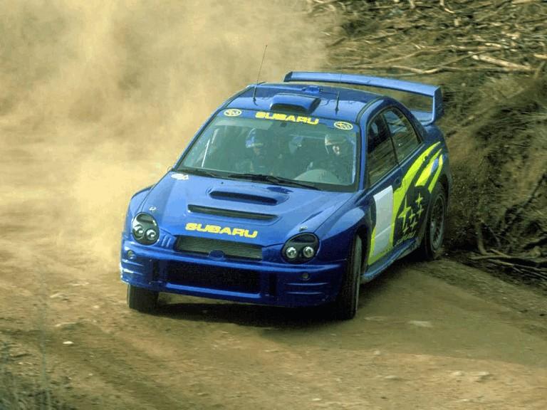 2001 Subaru Impreza WRC 483041