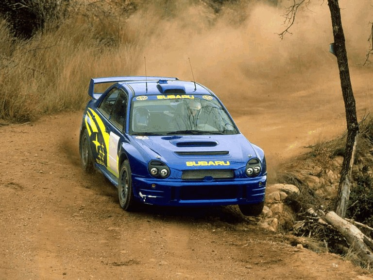 2001 Subaru Impreza WRC 483042