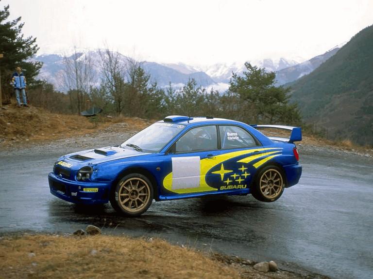 2001 Subaru Impreza WRC 483045