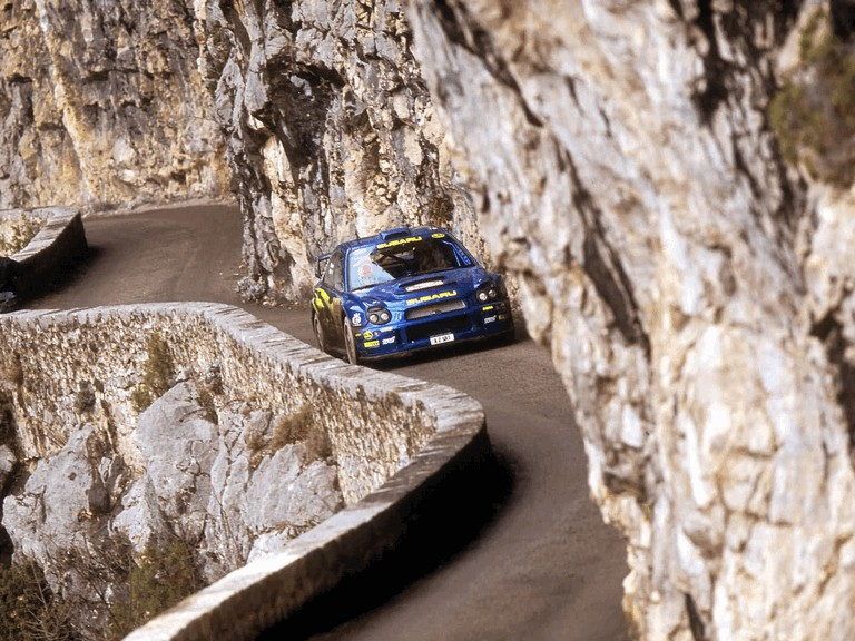 2001 Subaru Impreza WRC 483057