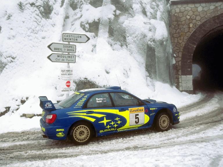 2001 Subaru Impreza WRC 483059