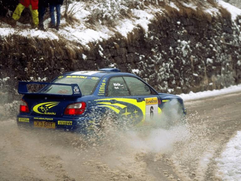 2001 Subaru Impreza WRC 483060