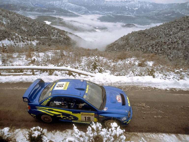 2001 Subaru Impreza WRC 483061
