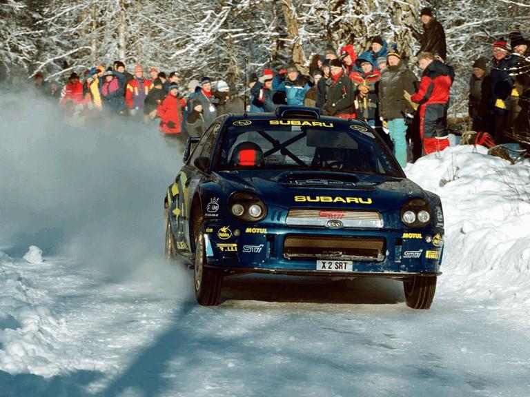 2001 Subaru Impreza WRC 483064
