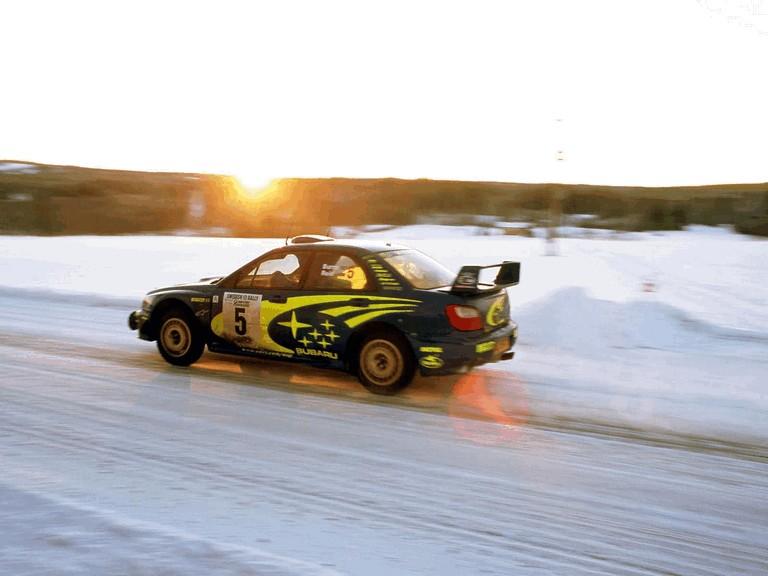 2001 Subaru Impreza WRC 483079