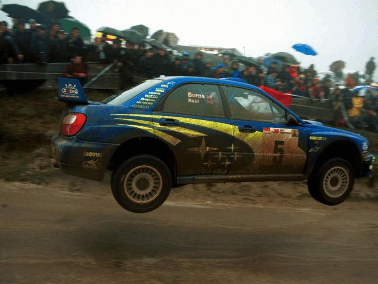 2001 Subaru Impreza WRC 483085