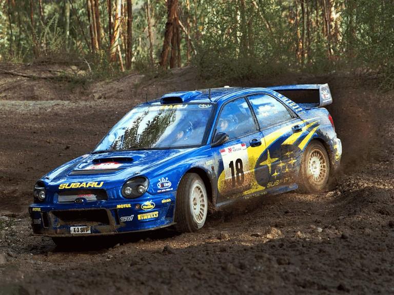 2001 Subaru Impreza WRC 483086
