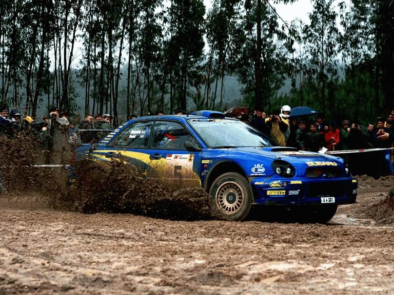 2001 Subaru Impreza WRC 483087