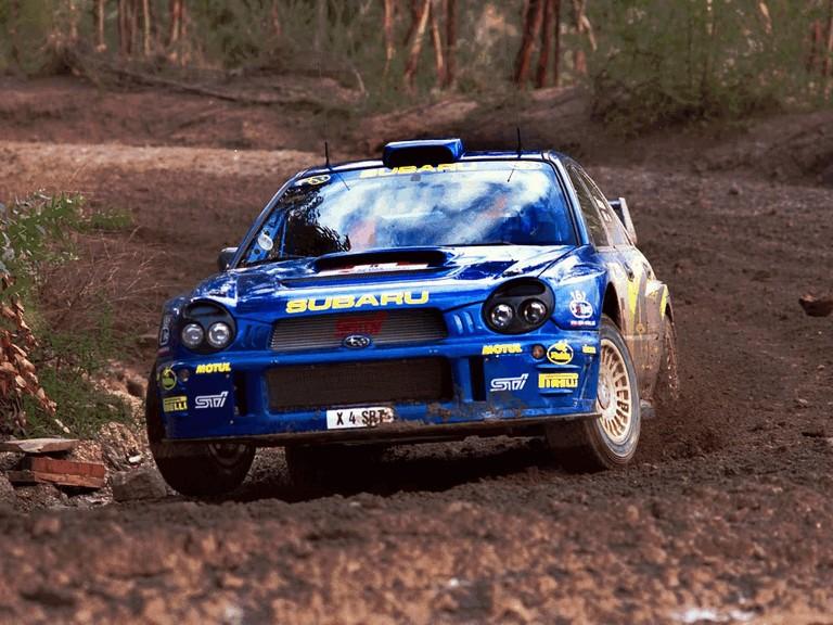 2001 Subaru Impreza WRC 483088