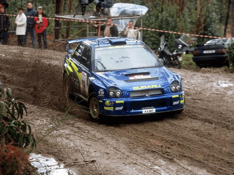 2001 Subaru Impreza WRC 483091