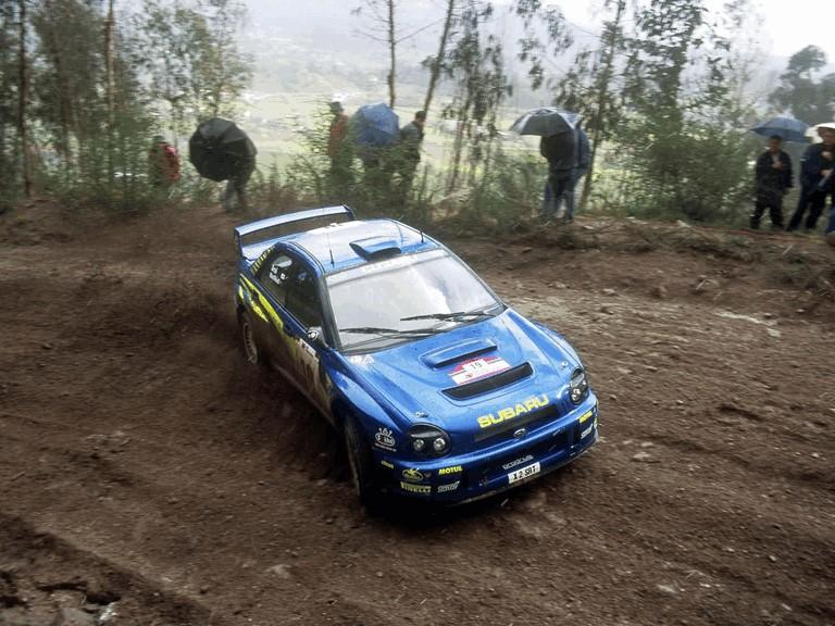 2001 Subaru Impreza WRC 483092
