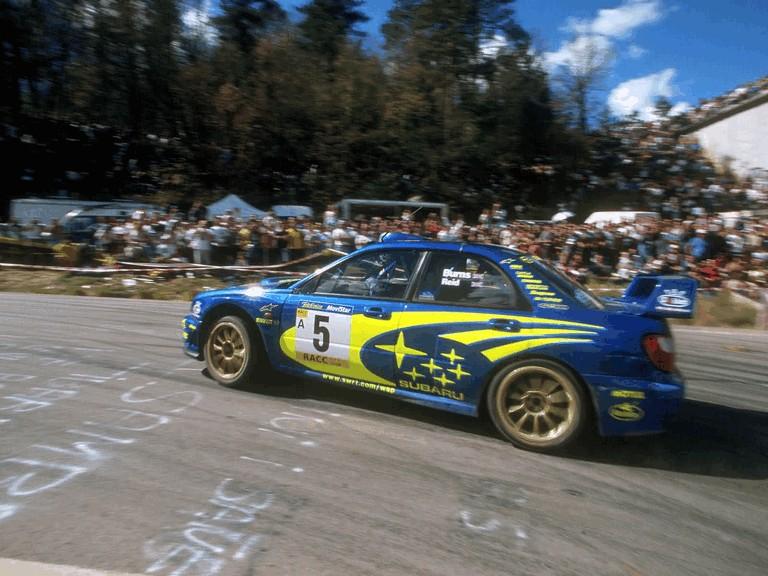 2001 Subaru Impreza WRC 483100