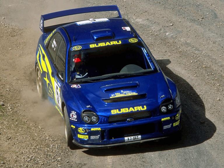 2001 Subaru Impreza WRC 483102