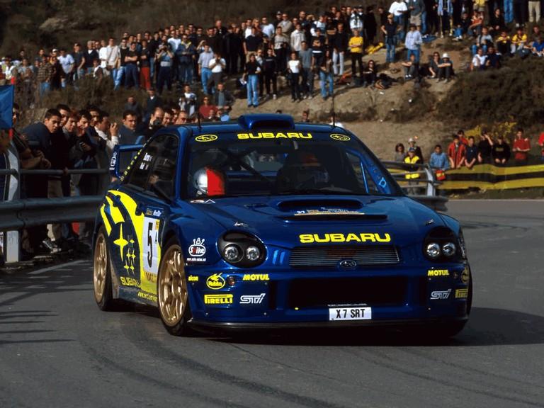 2001 Subaru Impreza WRC 483103