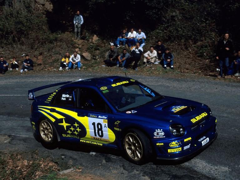 2001 Subaru Impreza WRC 483107