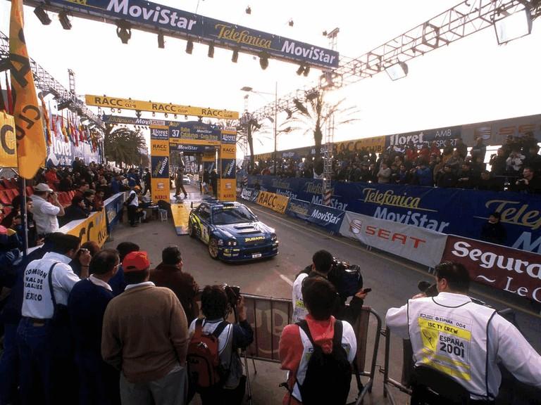 2001 Subaru Impreza WRC 483111