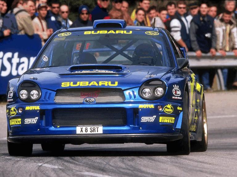 2001 Subaru Impreza WRC 483113