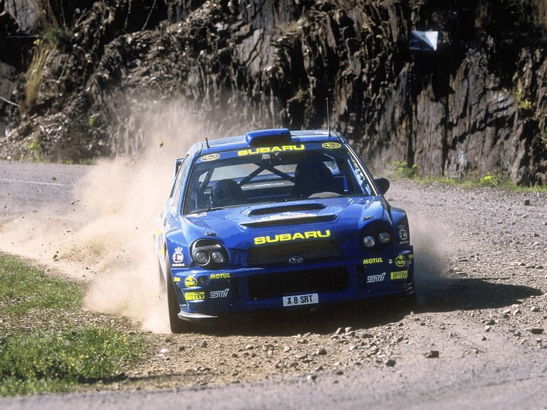 2001 Subaru Impreza WRC 483117