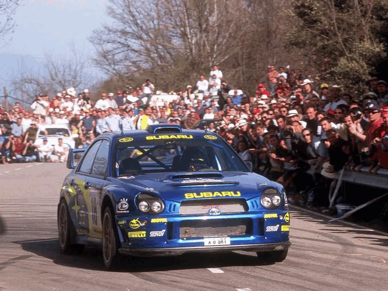 2001 Subaru Impreza WRC 483119