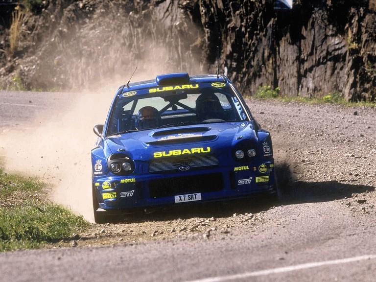 2001 Subaru Impreza WRC 483121