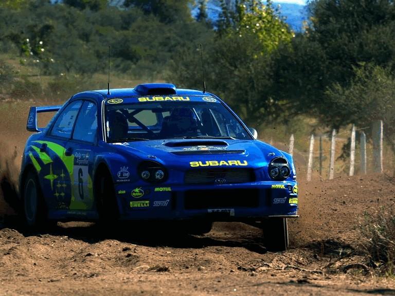 2001 Subaru Impreza WRC 483133