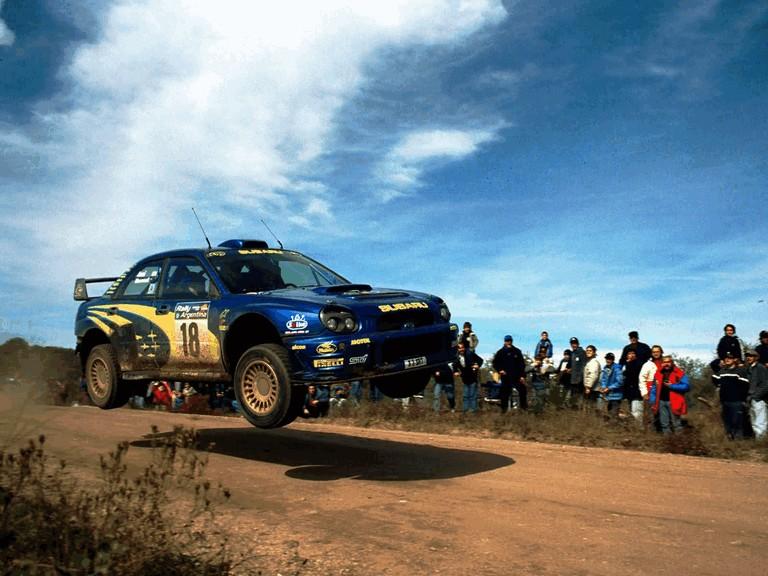 2001 Subaru Impreza WRC 483134