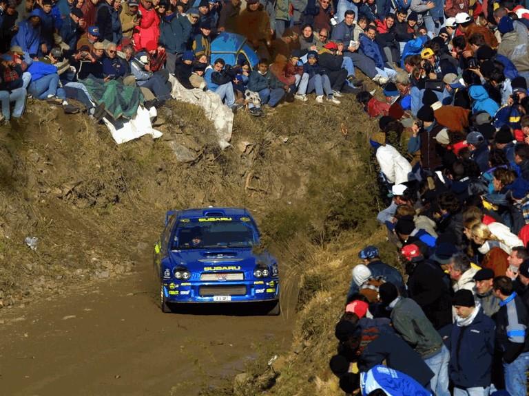 2001 Subaru Impreza WRC 483136