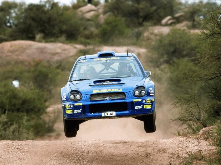 2001 Subaru Impreza WRC 483142