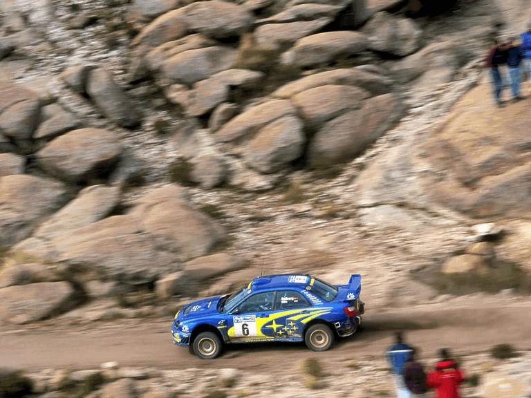 2001 Subaru Impreza WRC 483148