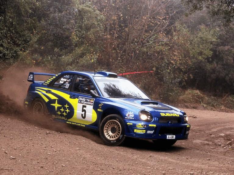 2001 Subaru Impreza WRC 483150