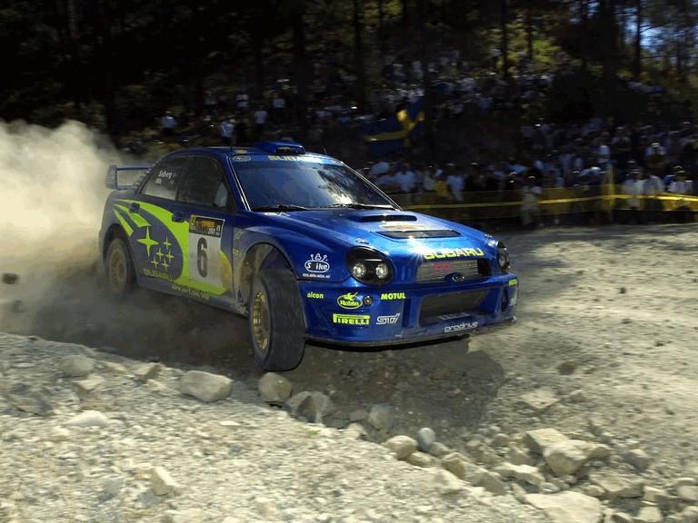 2001 Subaru Impreza WRC 483161