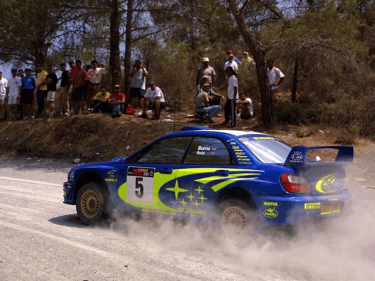 2001 Subaru Impreza WRC 483164
