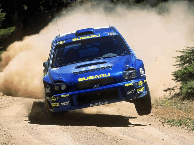 2001 Subaru Impreza WRC 483186