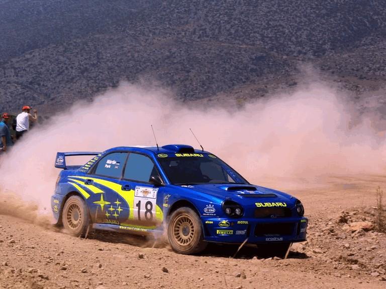 2001 Subaru Impreza WRC 483188